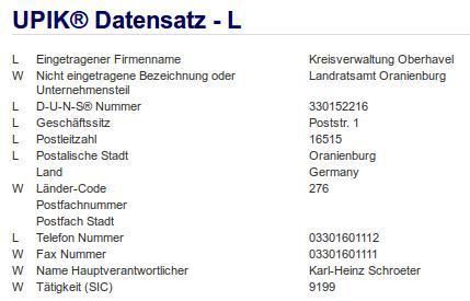 Kreisverwaltung Oberhavel Oranienburg