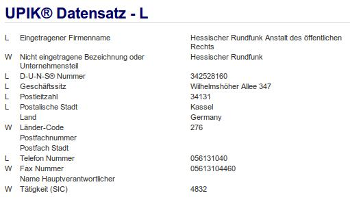Firma: HR in Kassel