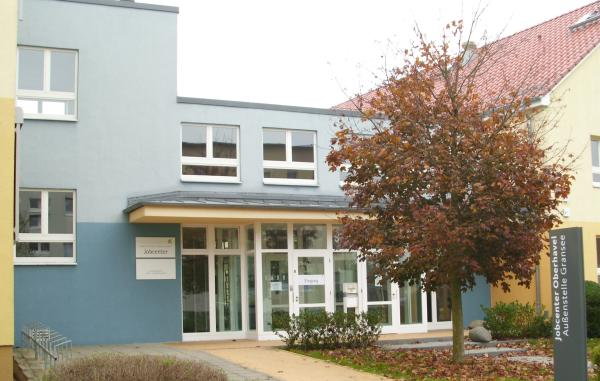 Jobcenter im Gebäude der ehemaligen Förderschule