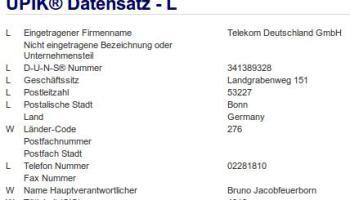 Raubzug Der Telekom Deutschland Gmbh Schramme Journal