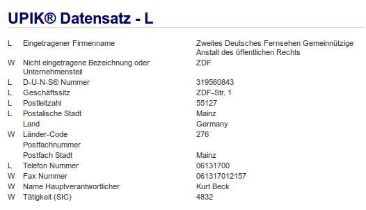 Firma: ZDF in Mainz Nr2