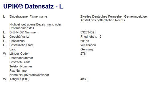 Firma: ZDF in Wiesbaden Nr2