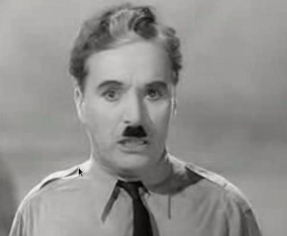 Charlie Chaplin - Film: Der Diktator - Rede an das Volk