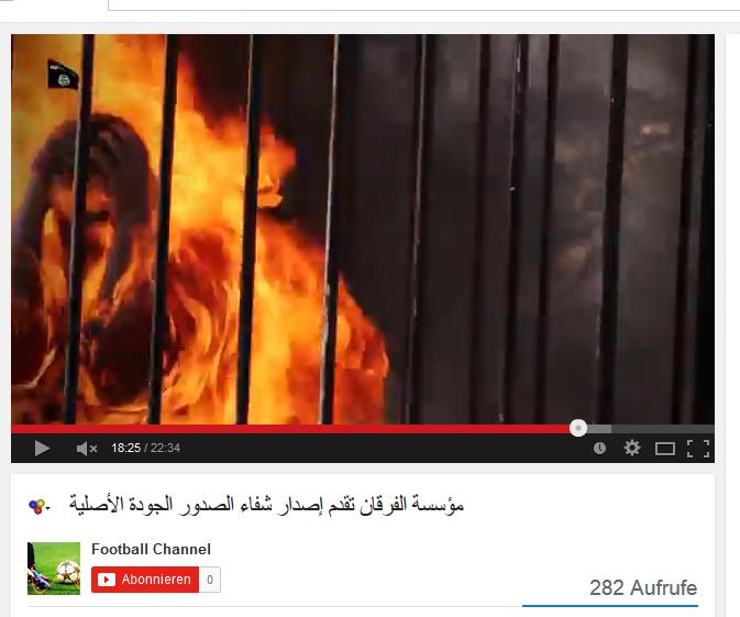 Lebendig verbrannt