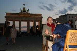 Ralph Boes im Juli 2015 am Brandenburger Tor